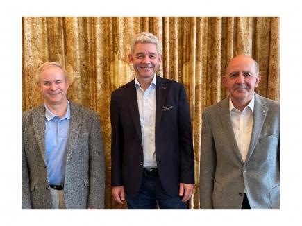 Alex Schär D-1980, Thomas Hunziker D-2000, Simon Bichsel D-1990