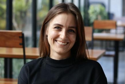 Online-Redakteurin des Distrikts 1980: Janine Keller