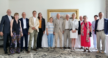 Alcuni dei membri della Paul Harris Society