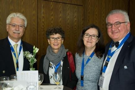Rotarier an der DV 2019 in Einsiedeln
